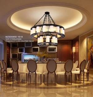 安装非标工程灯具根据酒店的不同空间大小和风格