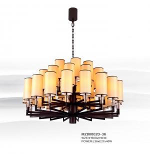 使用新中式灯具彰显酒店品味