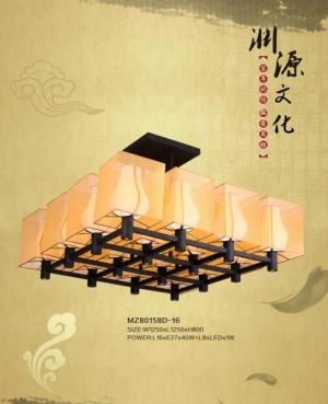 新中式灯具能让整个客厅显得更加有特色