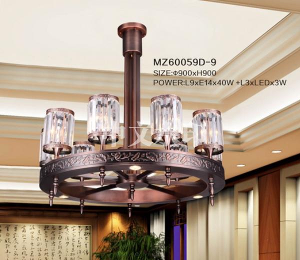 酒店新中式吊灯