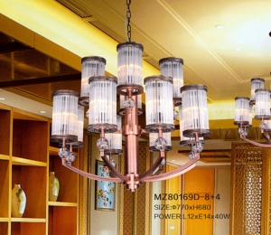 会所新中式灯具